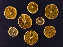 干的柑橘 免版税库存图片