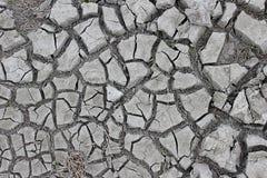 干破裂的土壤 免版税图库摄影