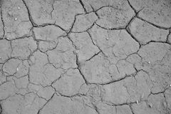 干破裂的地球土壤地面纹理背景 免版税库存照片