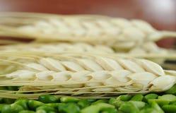 干绿豆麦子 免版税图库摄影