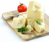 干自然帕尔马干酪 库存图片