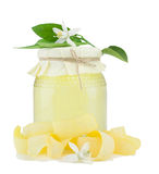 干花蜂蜜柠檬皮 免版税库存图片