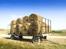 干草堆劳斯卡车的 免版税库存照片