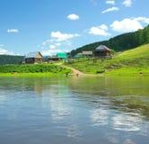 干草河 俄罗斯,南乌拉尔 图库摄影