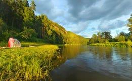干草河 俄罗斯,南乌拉尔 免版税库存照片