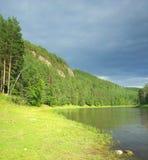 干草河 俄罗斯,南乌拉尔 库存图片