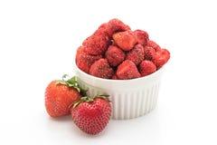 干草莓快餐 库存照片
