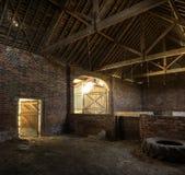 干草谷仓,英国 免版税库存图片