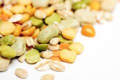 干豌豆和扁豆 库存图片