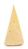 干酪三角部分  免版税库存照片