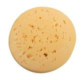 干酪圈子表单黄色 免版税库存照片