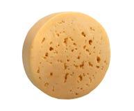 干酪圈子表单黄色 免版税图库摄影