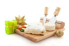 干酪圣诞节法语 免版税库存照片