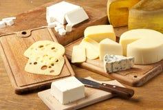 干酪导入了 免版税图库摄影