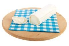 干酪山羊卷 免版税图库摄影