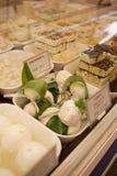 干酪市场 免版税库存照片