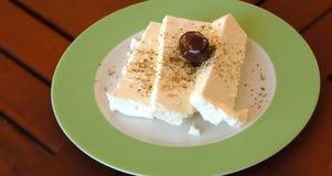 干酪希脂乳希腊传统 免版税库存图片