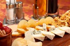 干酪开胃菜 库存照片