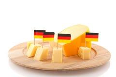 干酪德语 库存图片