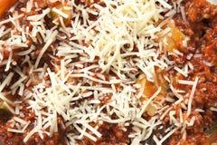 干酪意大利面食 免版税库存图片
