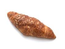 干酪新月形面包 免版税库存图片