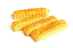 干酪曲奇饼 免版税库存照片
