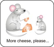 干酪更喜欢 免版税库存图片