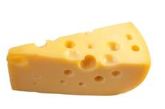 干酪查出的白色 库存图片