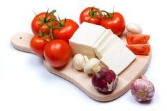 干酪母牛白色 免版税图库摄影