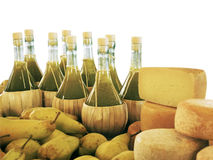 干酪油橄榄 免版税库存图片