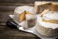 干酪法国软件 免版税库存图片