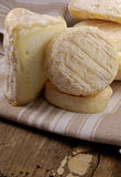 干酪法语选择 库存照片
