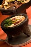 干酪溶化奶油墨西哥 免版税库存图片