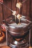 干酪溶化奶油 库存图片
