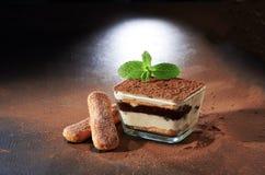 干酪点心意大利甜tiramisu 提拉米苏 免版税图库摄影