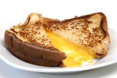 干酪烤三明治 免版税图库摄影
