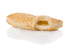 干酪熔化了被充塞的酥皮点心吹 免版税图库摄影