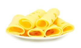 干酪片式 图库摄影
