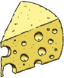 干酪瑞士 向量例证