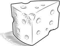 干酪瑞士 库存照片