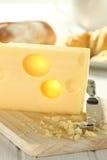 干酪磨丝器 免版税库存照片