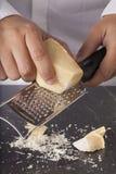 干酪磨碎了 免版税库存图片