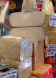 干酪美食的界面 免版税库存照片
