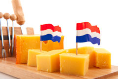 干酪荷兰语 库存图片