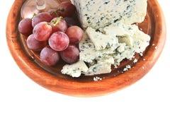 干酪葡萄模子 免版税库存照片