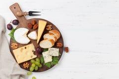 干酪葡萄胡说的牌照 免版税库存图片