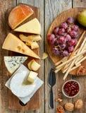干酪键入多种 库存照片