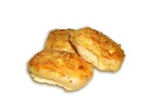 干酪饼 免版税库存照片