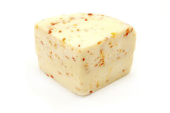 干酪Al peperoncino 库存图片