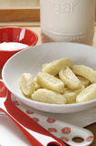 干酪gnocchi甜点 库存照片